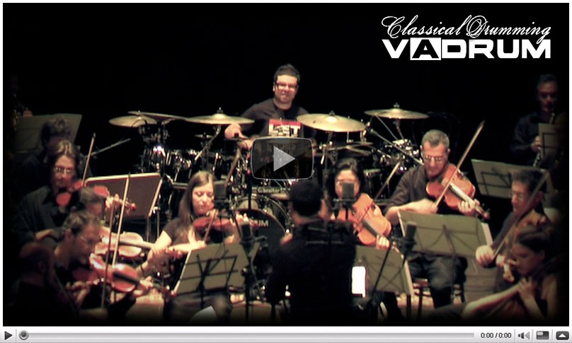 Vadrum - Classical Drumming - Out Now!