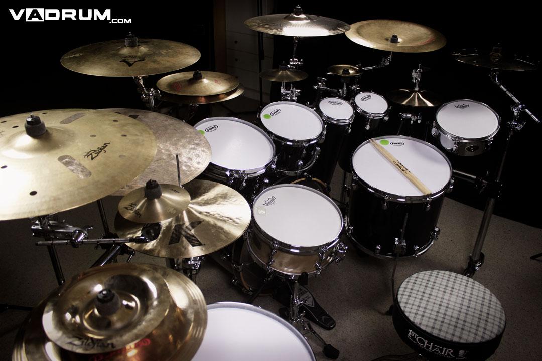 Andrea Vadrucci Vadrum Drumset English Version