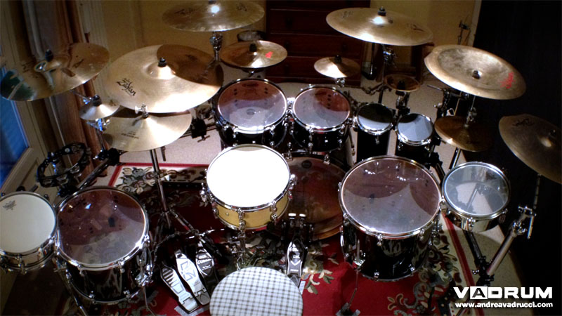 Andrea Vadrucci Vadrum Drumset English Version